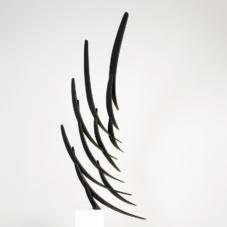 Murmuration Study 1 | carbon fiber composite | 52 x 33 x 8 inches